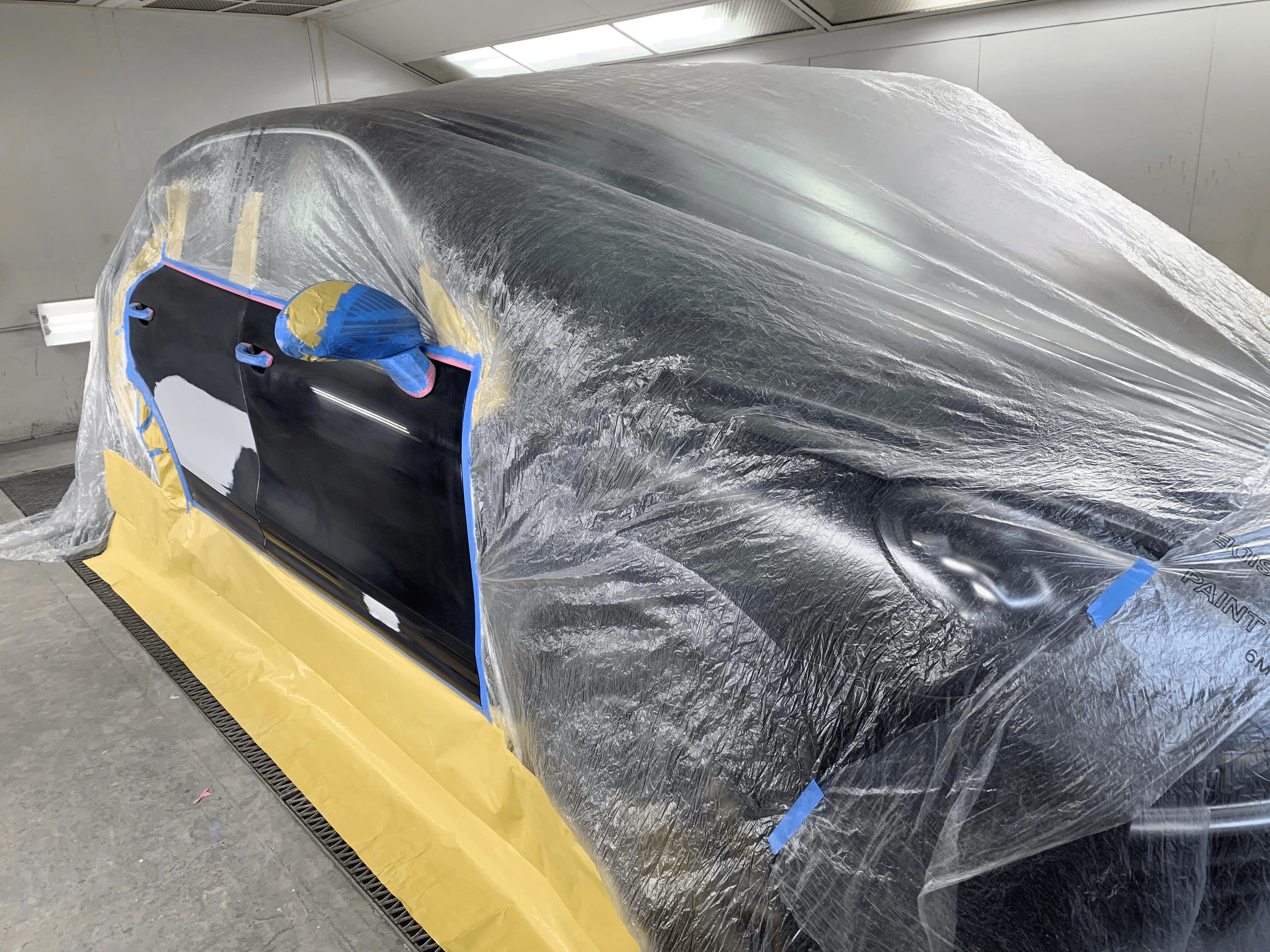 甲府市K様「ポルシェ カイエン ターボ」の板金塗装の施工事例