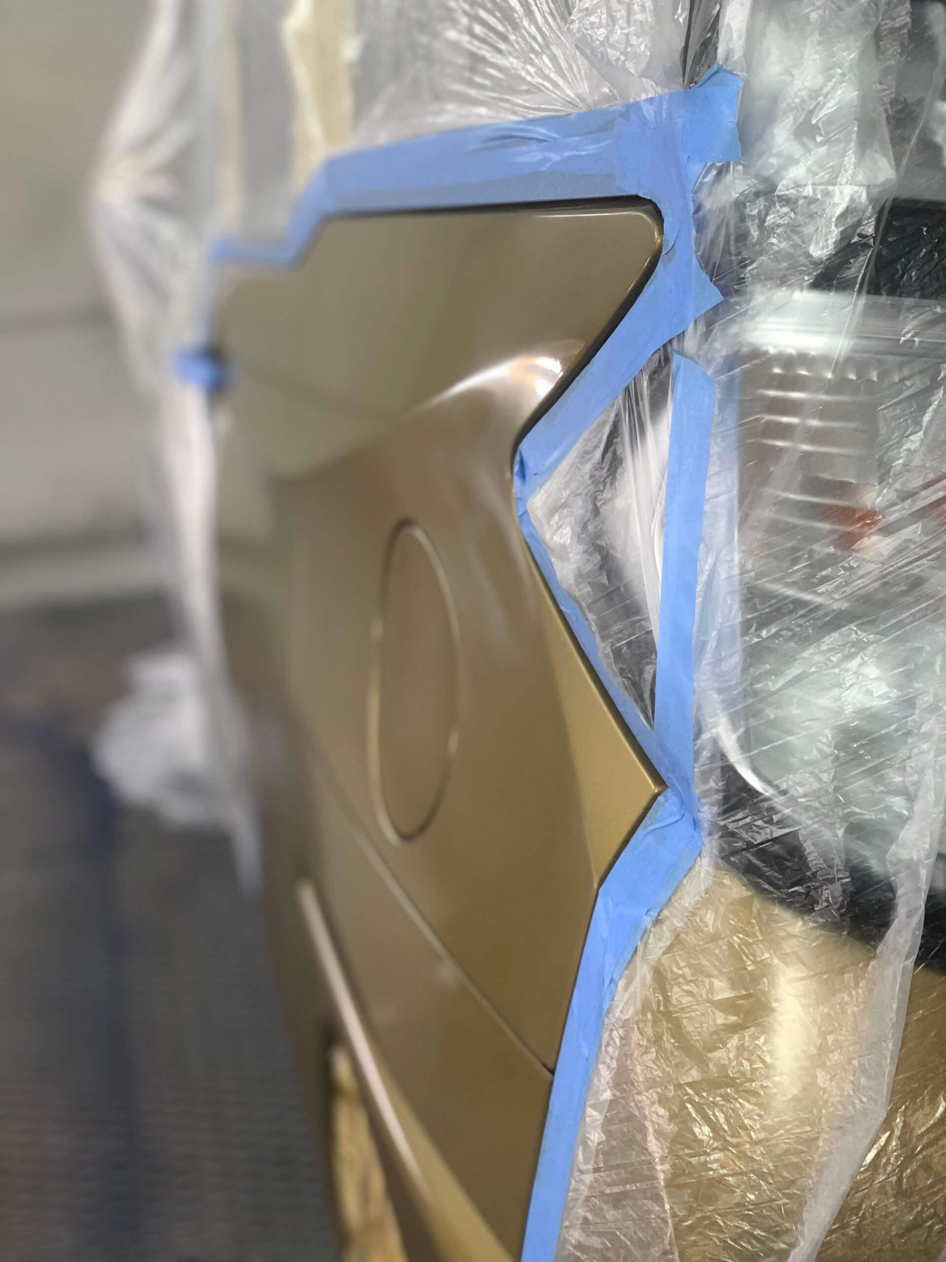 南アルプス市F様「トヨタ タンク」の板金塗装の施工事例