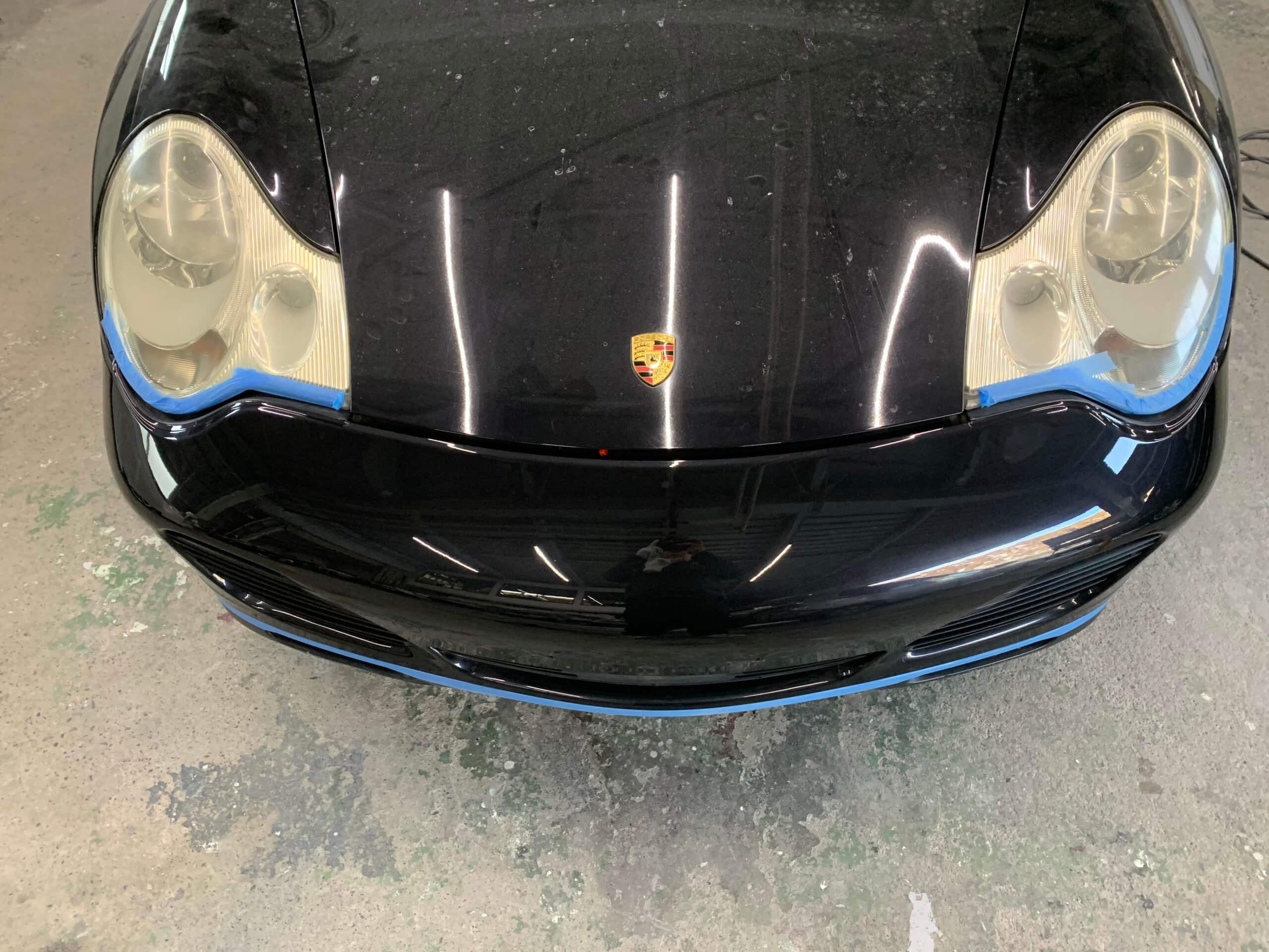 大月市K様「ポルシェ 996」の板金塗装・レストアの施工事例